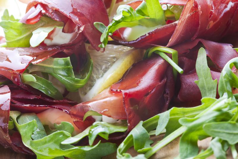 salade bresaola