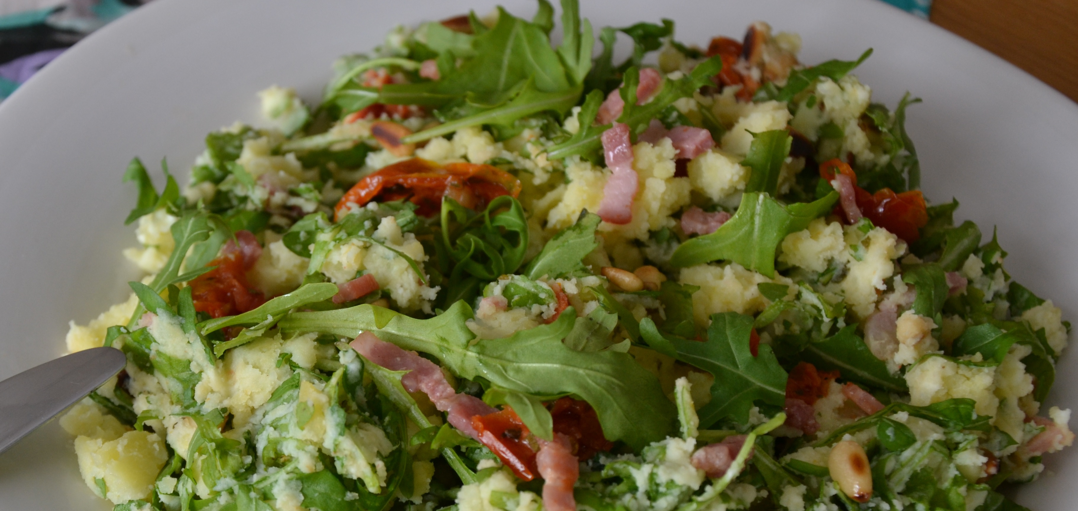 rucola - aardappel salade2