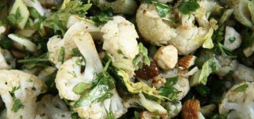 heerlijke bloemkool salade